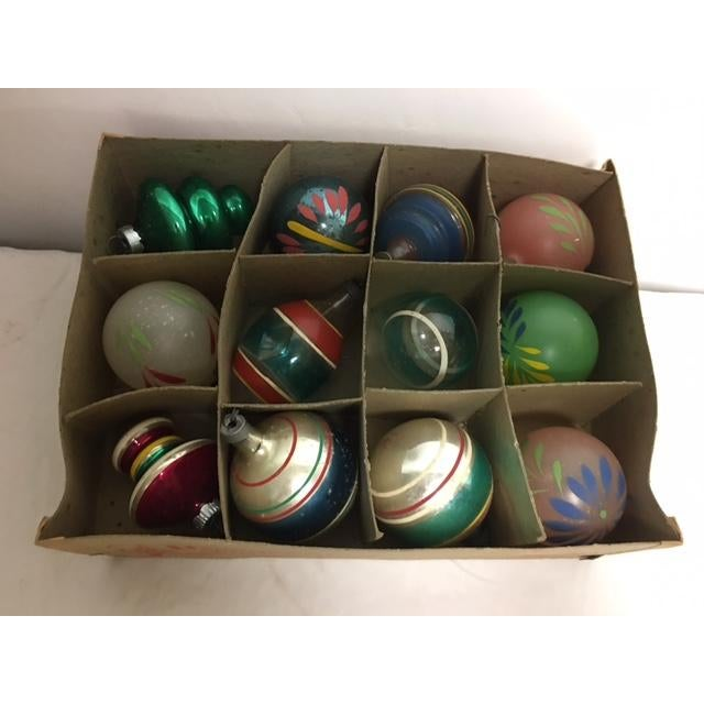Vintage Assorted Glass Ornaments - Set of 12 - Image 3 of 6