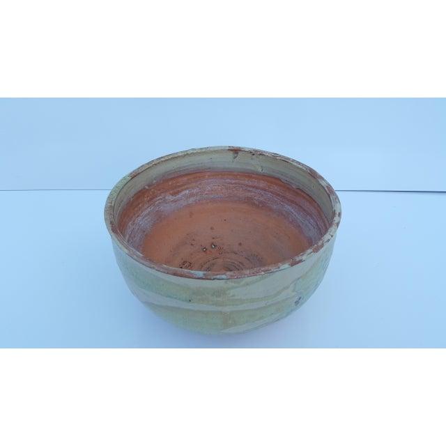 Vintage Drip Glaze Fat Lava Planter Pot . For Sale - Image 4 of 8