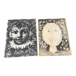 """"""" Picasso Lithographe """" Books, Vol I (1919-1947) and Vol II ( 1947-1949) - a Pair For Sale"""