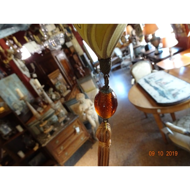 Fortuny Silk Pendant For Sale - Image 9 of 11