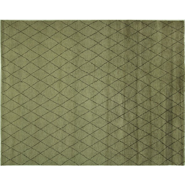 "Moroccan Berber Collection Rug - 8'1"" x 10' - Image 1 of 9"