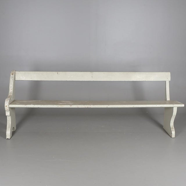 Wondrous Swedish Antique Wooden Church Benches A Pair Caraccident5 Cool Chair Designs And Ideas Caraccident5Info
