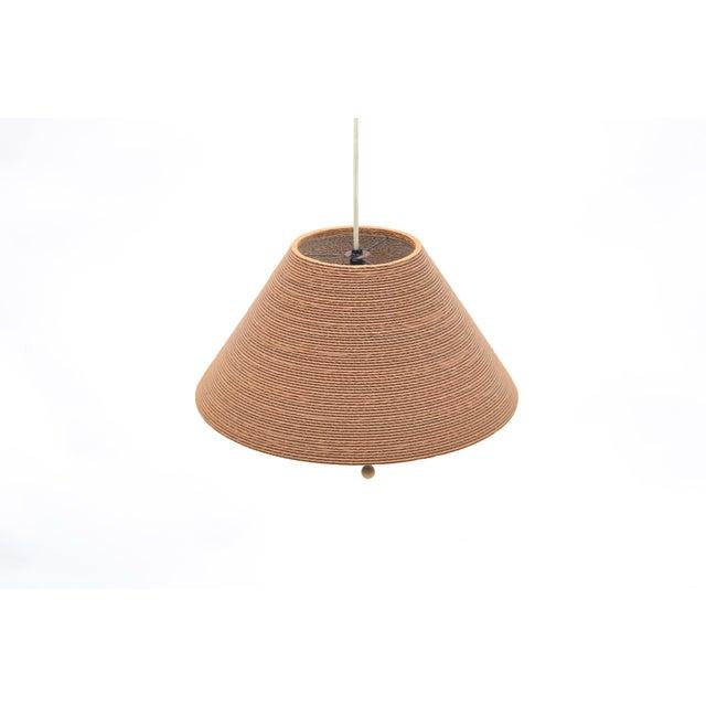 Paper Gregory Van Pelt Corragated Cardboard Hanging Light For Sale - Image 7 of 9
