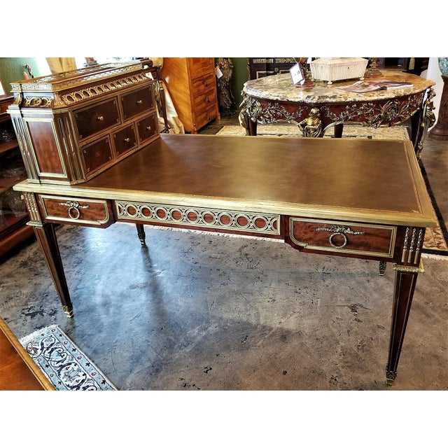 19th Century Louis XVI Style Desk by Paul Sormani For Sale - Image 13 of 13