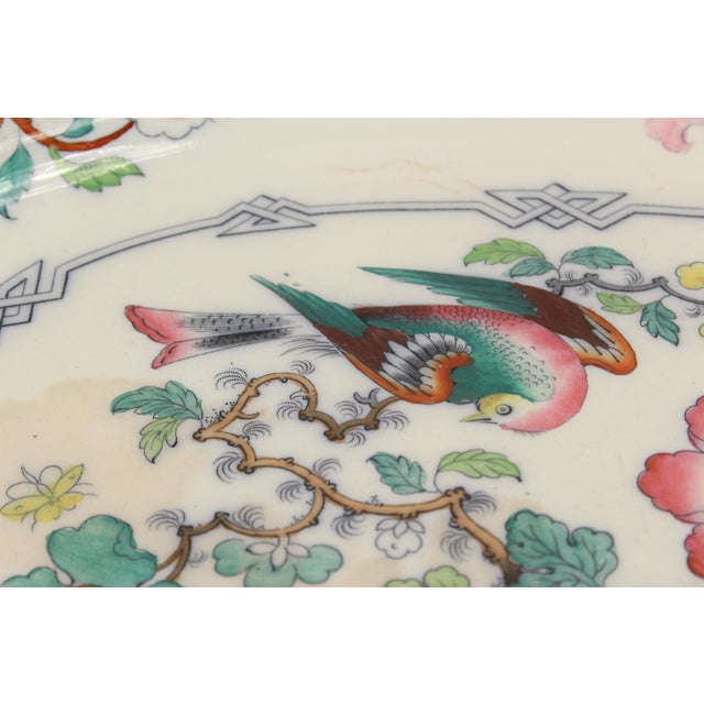 19th Century Ironstone Platter For Sale - Image 4 of 12