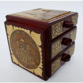 Russian Wood & Tree Bark Box Preview