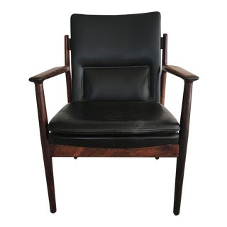 Mid-Century Modern Danish Arne Vodder Rosewood Armchair by Sibast Furniture For Sale
