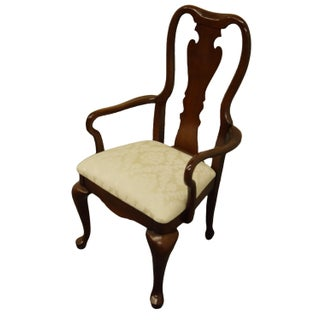 Late 20th Century Thomasville Furniture Collectors Cherry Collection Dining Arm Chair Preview