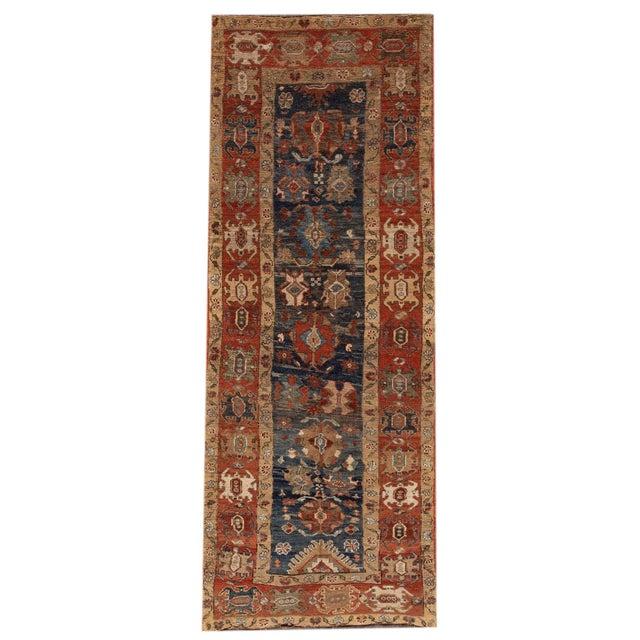 "Vintage Persian Tribal Bakshaish Rug, 3'3"" X 10'10"" For Sale - Image 11 of 11"