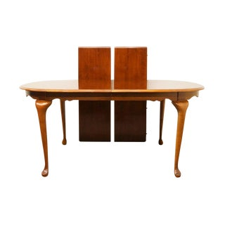 20th Century Traditional American Drew Cherry Grove Dining Table For Sale