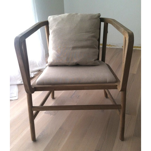 HD Buttercup Oak Club/ Dining Chair - Image 7 of 8