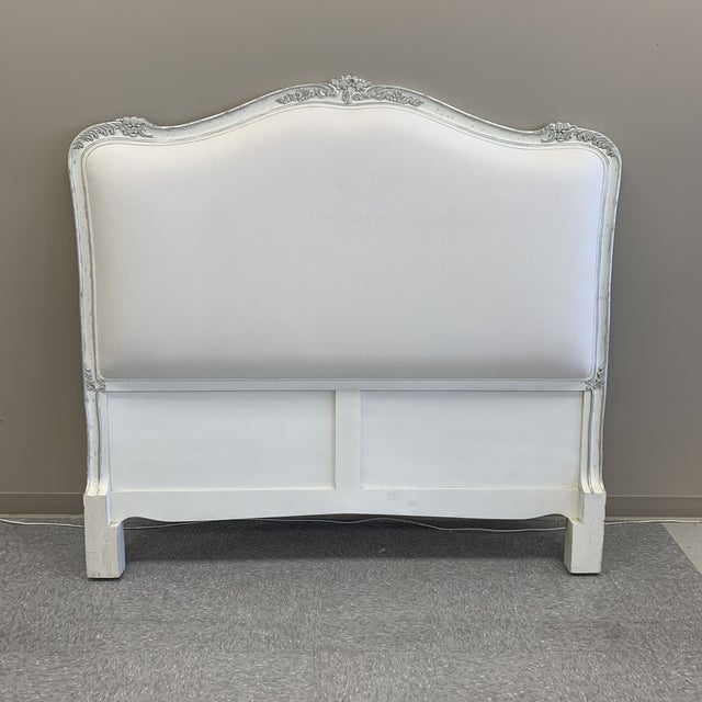 Carved French Style Headboard For Sale - Image 9 of 9