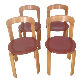 Swiss Co. Dieteker Bruno Rey Stacking Chair For Sale