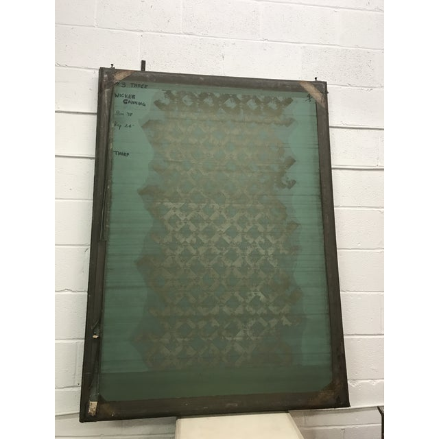 Screen Press Titled Wicker Canning #3 For Sale In Washington DC - Image 6 of 6