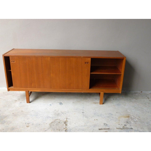 1950s Mid Century Modern Danish Koford Larsen Teak & Rosewood Credenza For Sale - Image 12 of 13