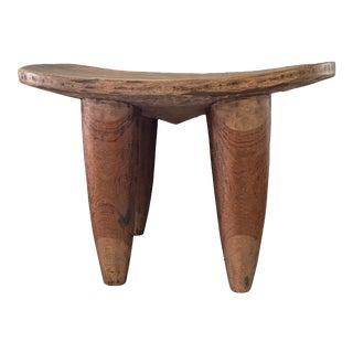 Senufo Wood Stool / Table I Coast For Sale