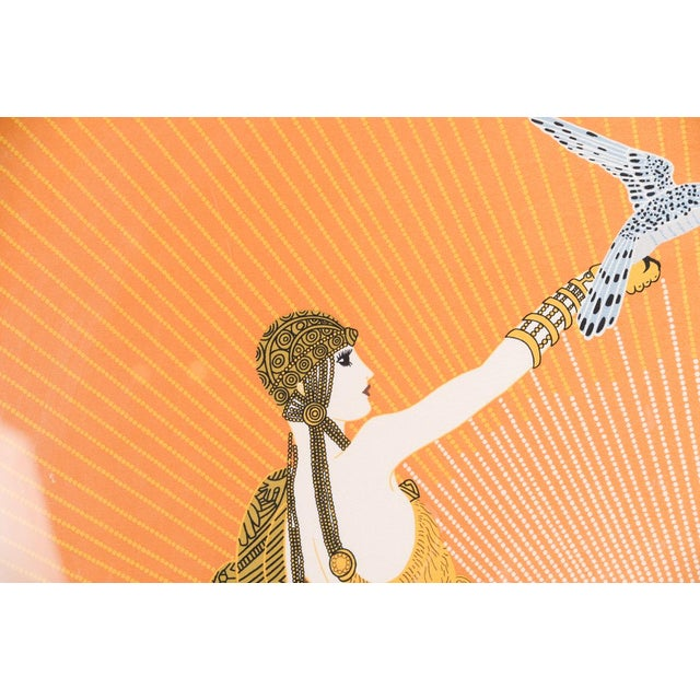 Erte Art Deco Serigraph-Wing of Victory For Sale In Los Angeles - Image 6 of 11