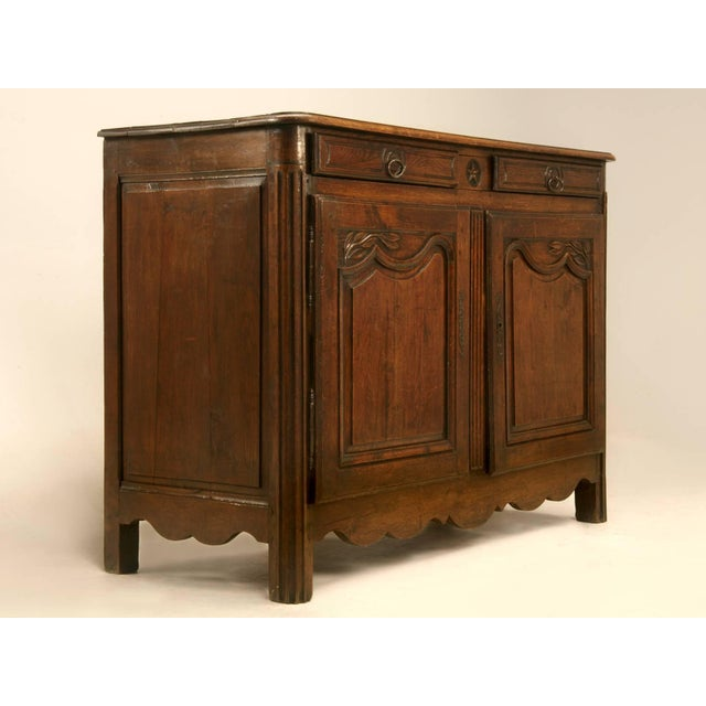 Antique French Buffet With Star Motif For Sale - Image 10 of 10