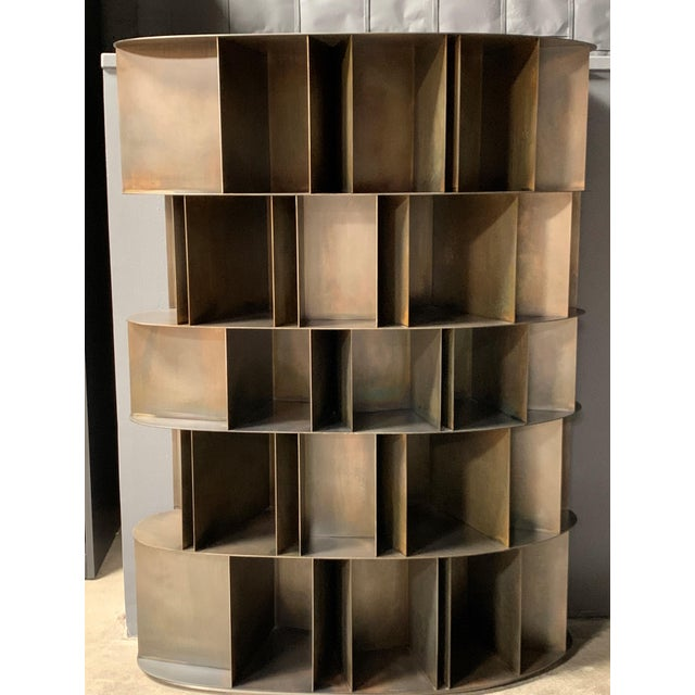 Existence Metal Bookcase by DeCastelli For Sale In Los Angeles - Image 6 of 7