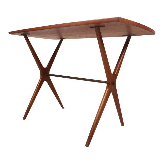 Mid-Century Modern Teak End Table - Image 1 of 11