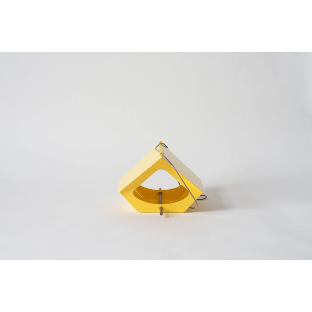 Yellow Beekman Bird Feeder in Yellow For Sale - Image 8 of 9