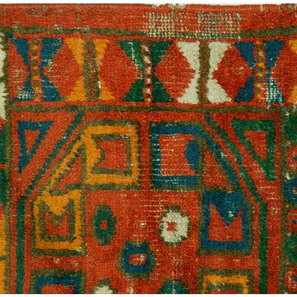Uzbek Small Pile Rug Napramash #6 - 1′7″ × 2′3″ - Image 3 of 4