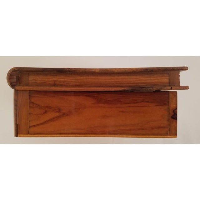 Late 19th Century English Olive Wood Sewing Spool Box For Sale In Chicago - Image 6 of 10