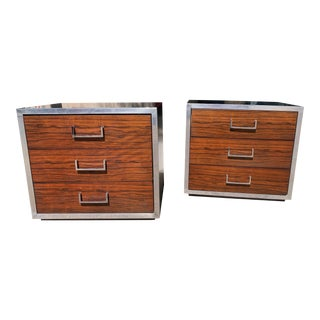 Mid Century Nightstands - a Pair For Sale