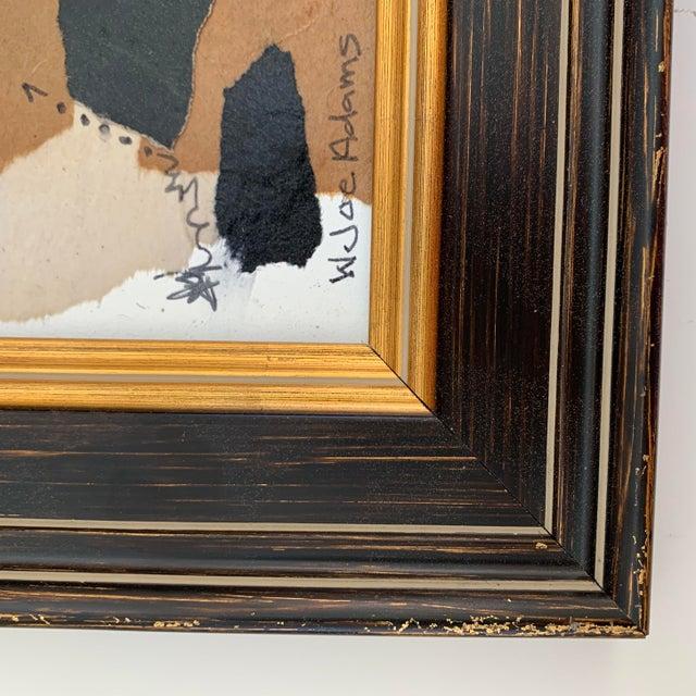 White Joe Adams Framed Collage Art For Sale - Image 8 of 13