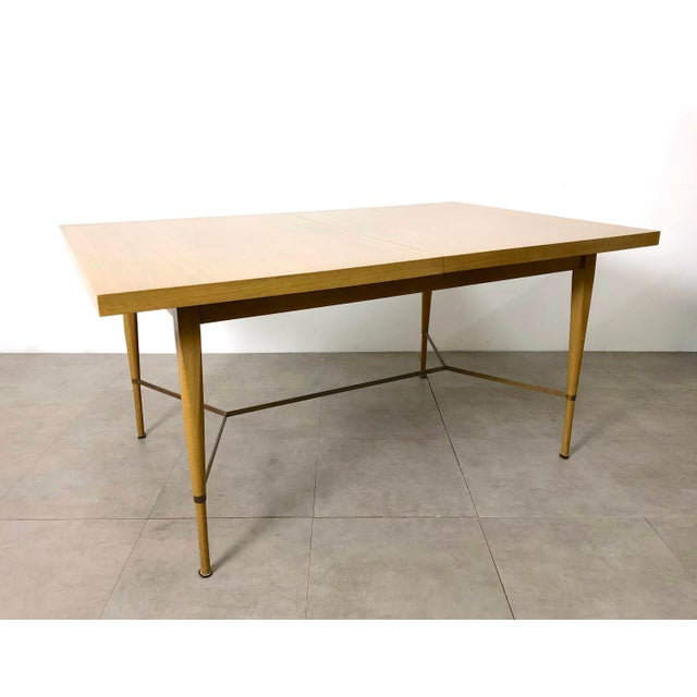 1950s Vintage Paul McCobb Irwin Calvin Dining Table For Sale - Image 11 of 11