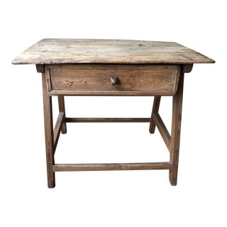 Spanish Antique Side Table For Sale