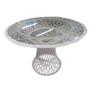 Russell Woodard Web Spun Patio Table For Sale