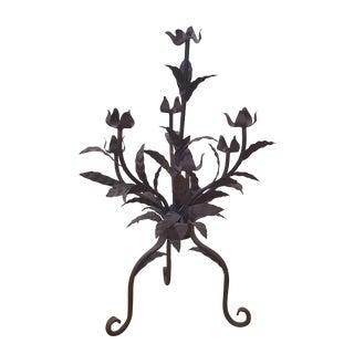 Sarreid Metal Floral Sculpture For Sale