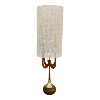 1960s Modeline Mid-Century Modern Adrian Pearsall Style Large Lamp For Sale