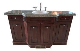 Image of Marble Single Sink Vanities