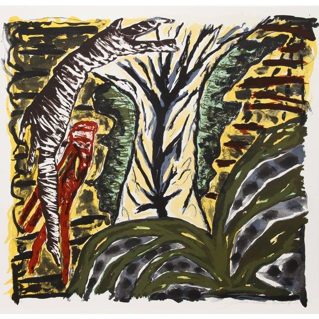 """Gregory Amenoff """"Santurio De Chimayo"""" Lithograph For Sale"""