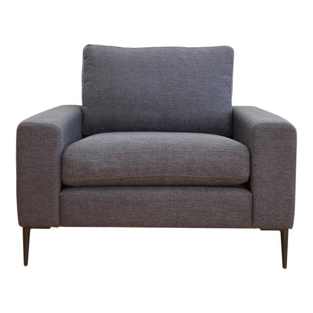 Mid Century Modern Club Chair For Sale
