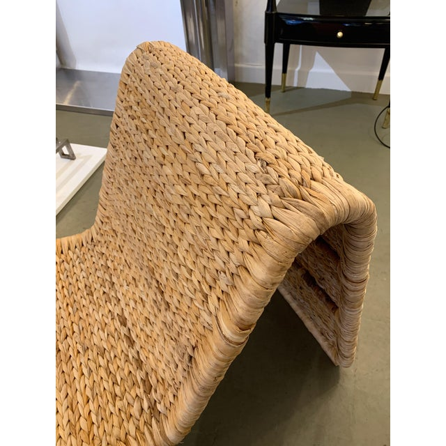 1980s Tito Agnoli P3 Rattan Lounge Chairs- a Pair For Sale - Image 10 of 12