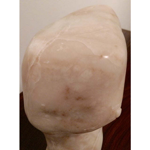 "Large (14.5"") Carved Marble Modern Torso / Nude - Image 9 of 10"