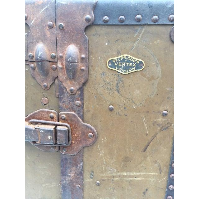 Antique Wardrobe Steamer Trunk - Selfridges of London - Image 3 of 9