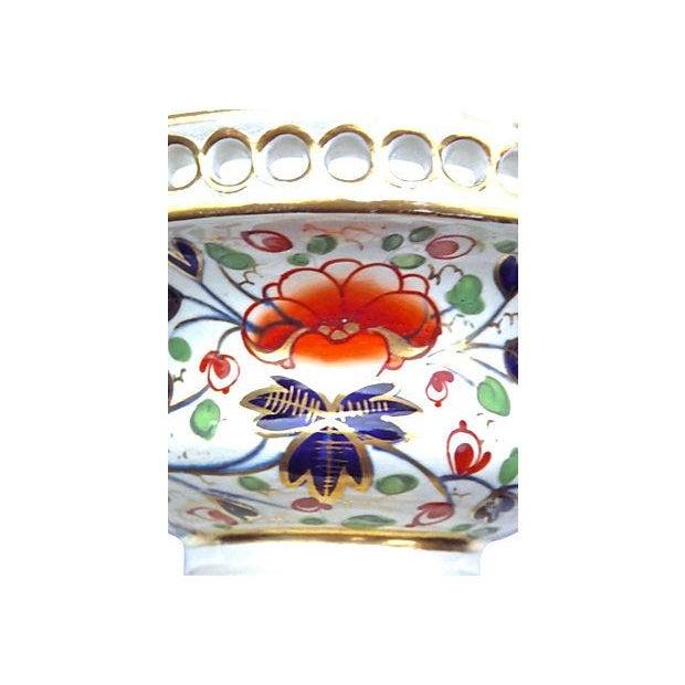 Royal Crown Derby Porcelain Antique Royal Derby Garniture Compote For Sale - Image 4 of 7