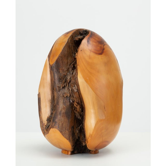 A Sebastopol, CA-based woodworker and tree nursery proprietor, Chuck McLaughlin specialized in turned wood bowls, vases,...