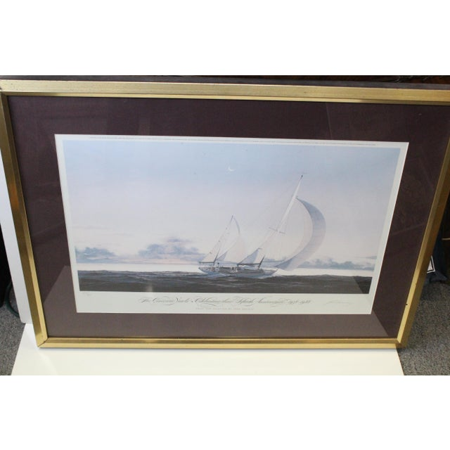 John Mecray Concordia Yawls Print For Sale - Image 4 of 9