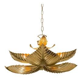 Image of Gold Leaf Pendant Lighting