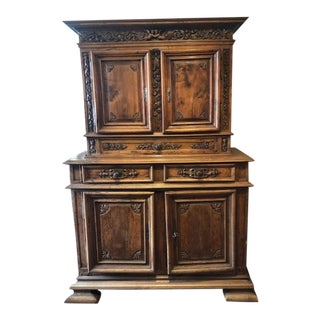 Early 18th Century Buffet Deux Corps From Provence, France For Sale