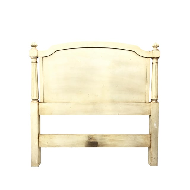 French Provincial Kindel Furniture French Provincial Twin Headboards - a Pair For Sale - Image 3 of 6