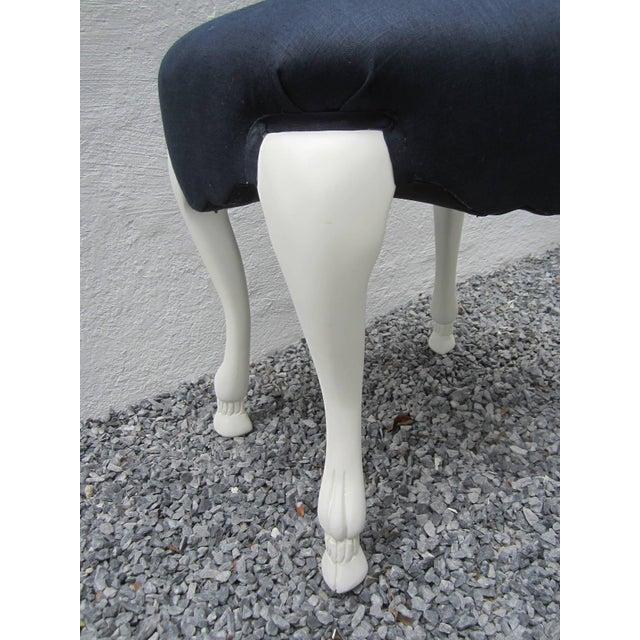 1970s Vintage Goat Leg Stool For Sale - Image 4 of 5