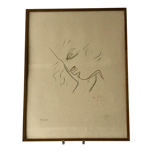 Jean Cocteau Lithograph For Sale