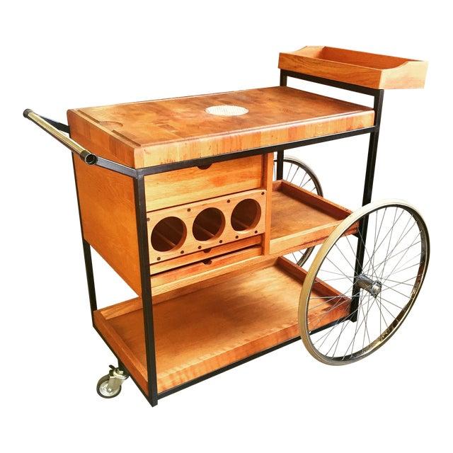 1960's Bill Saunders Umanoff Design Bar Cart For Sale