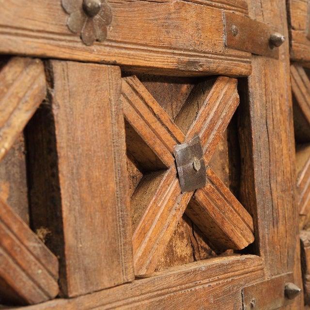 Antique Carved Moorish Door For Sale In Los Angeles - Image 6 of 10